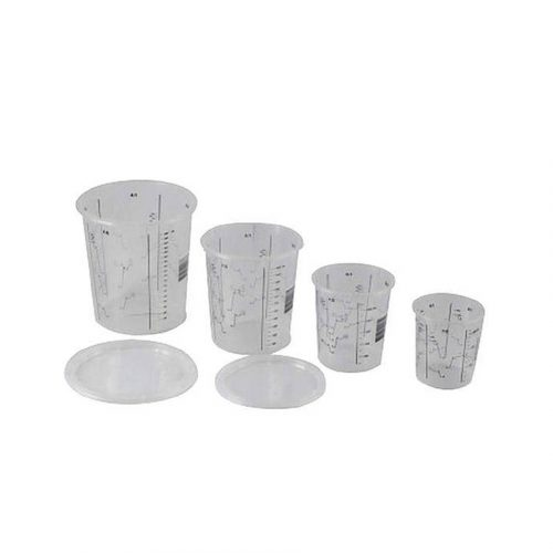 Mixing cups and lids